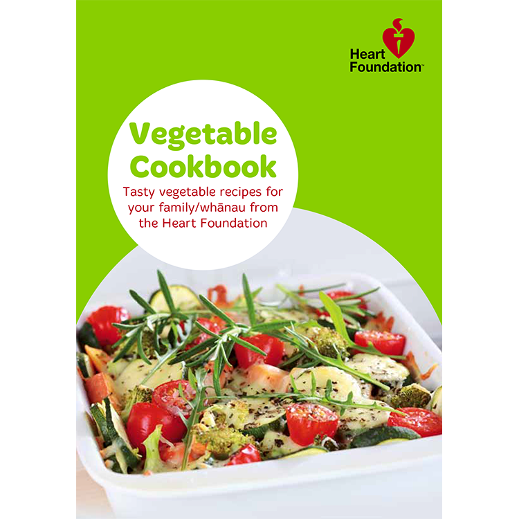 Free heart foundation vegetable cookbook heart foundation forumfinder Images