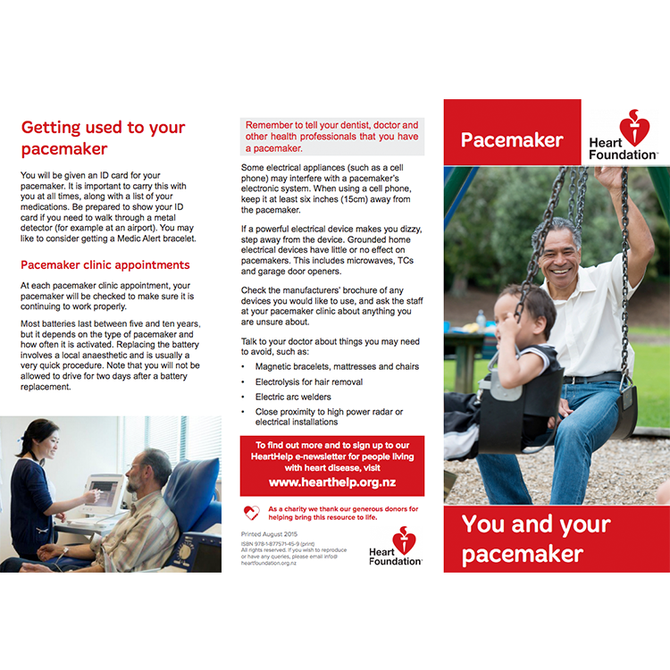 Pacemakers And Microwaves >> You And Your Pacemaker Pamphlet Heart Foundation