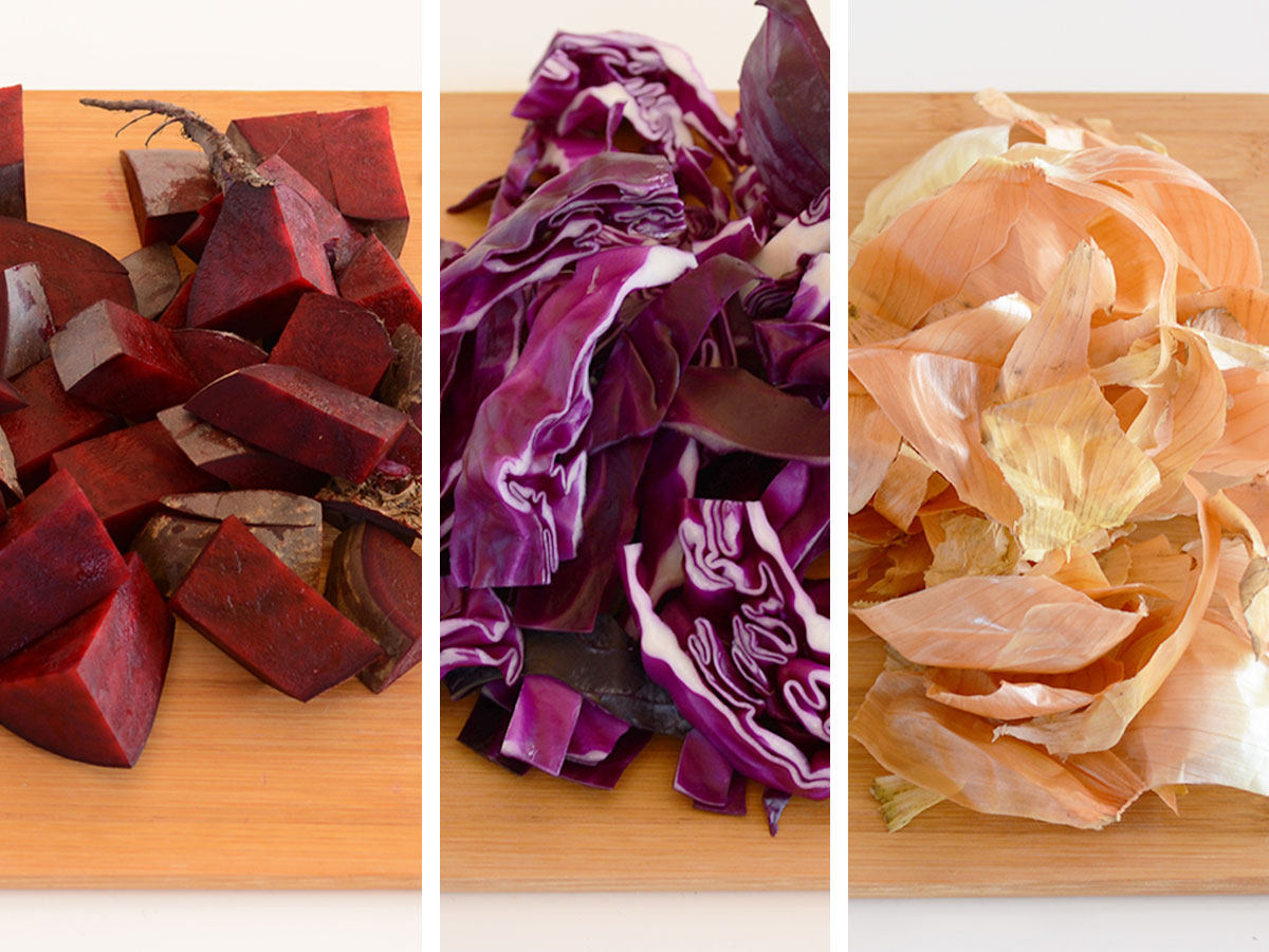 How to make food colouring from vegetables