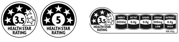 The health star rating system