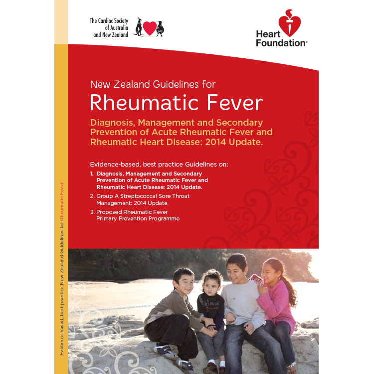 national heart foundation guidelines rheumatic fever